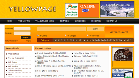 Yellow Pages Nepal
