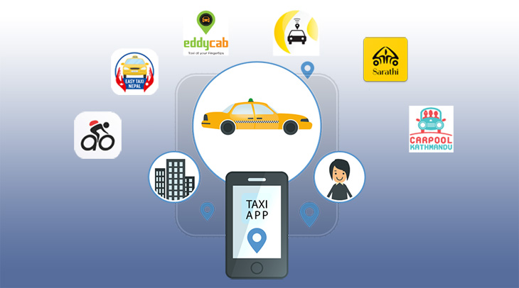 Popular Taxi Booking Apps in Nepal